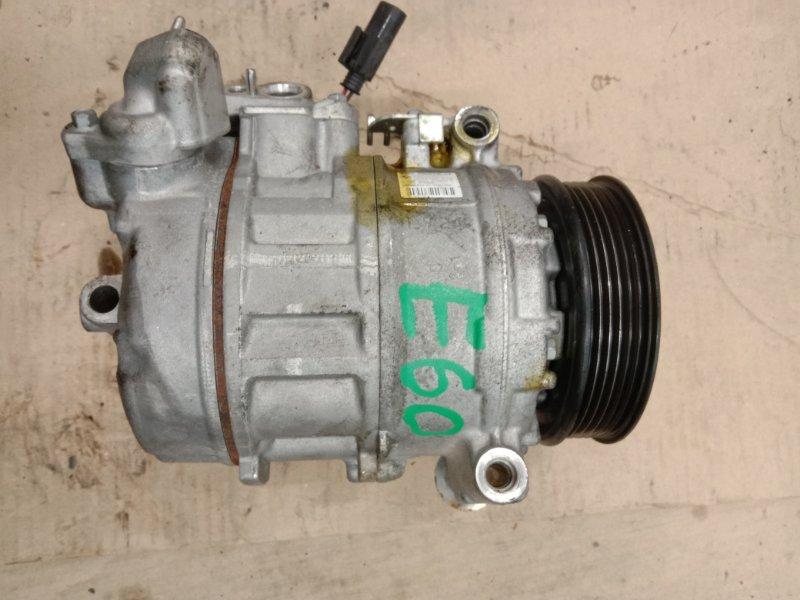Компрессор кондиционера Bmw 5-Series E60 N52B25 2006