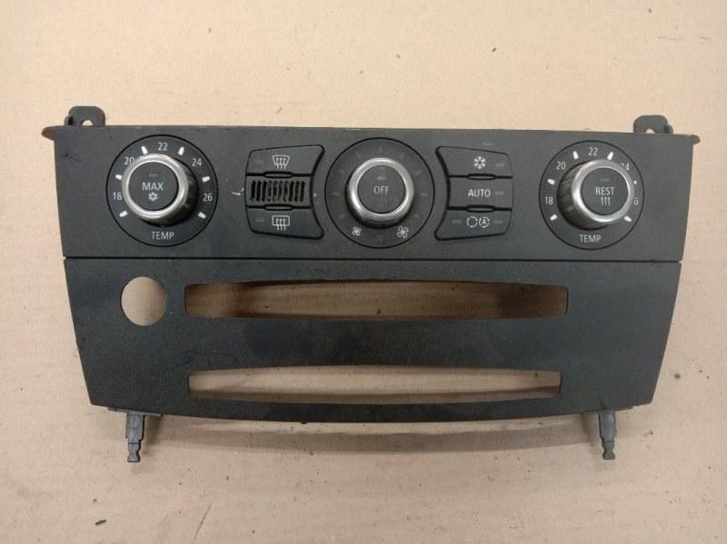 Блок управления климат-контролем Bmw 5-Series E60 N52B25 2006