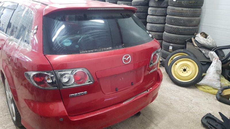 Дверь задняя багажника Mazda Atenza GY3W L3-VE 2005