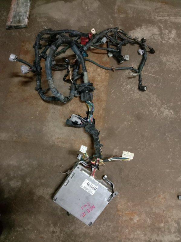 Блок управления двс Toyota Corolla NZE121 1NZ-FE 2001