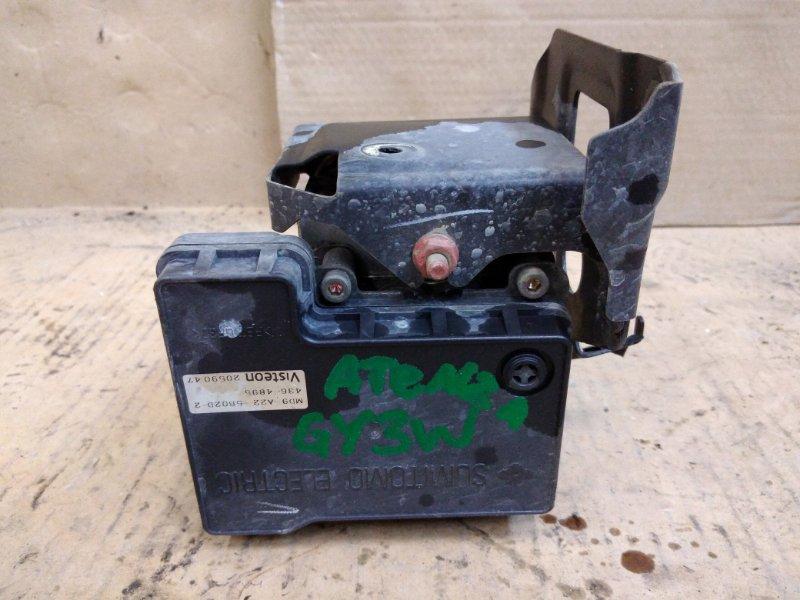 Блок abs Mazda Atenza GY3W L3-VE 2005