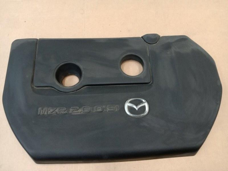 Крышка на двигатель декоративная Mazda Atenza GHEFP LF-VD 2011