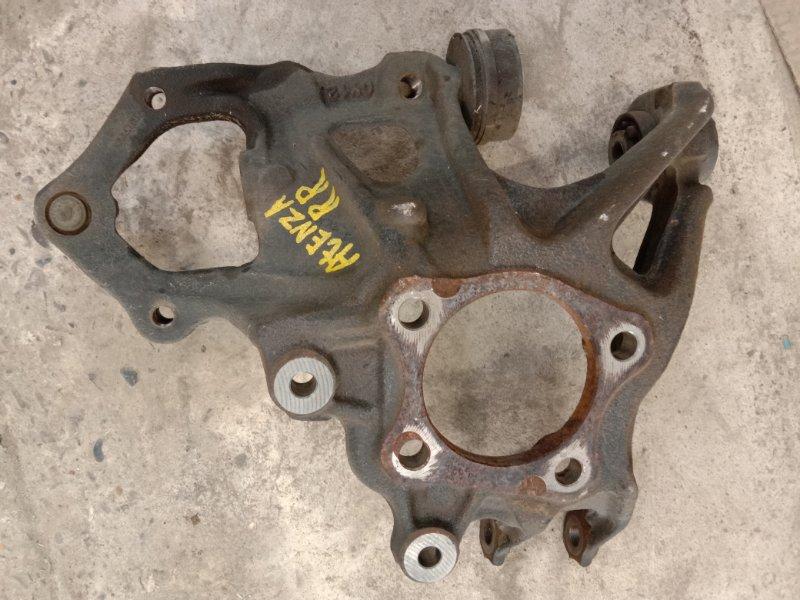 Цапфа Mazda Atenza GHEFP LF-VD 2011 задняя правая