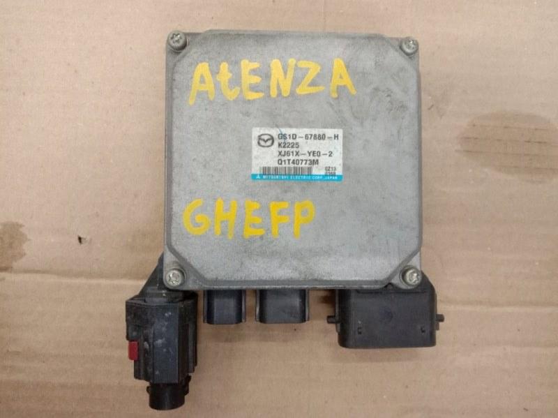 Блок управления рулевой рейкой Mazda Atenza GHEFP LF-VD 2011