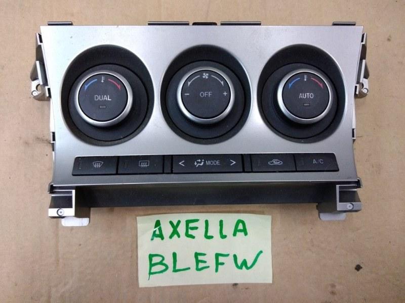 Блок управления климат-контролем Mazda Axela BLEFW LF-VDS 2009
