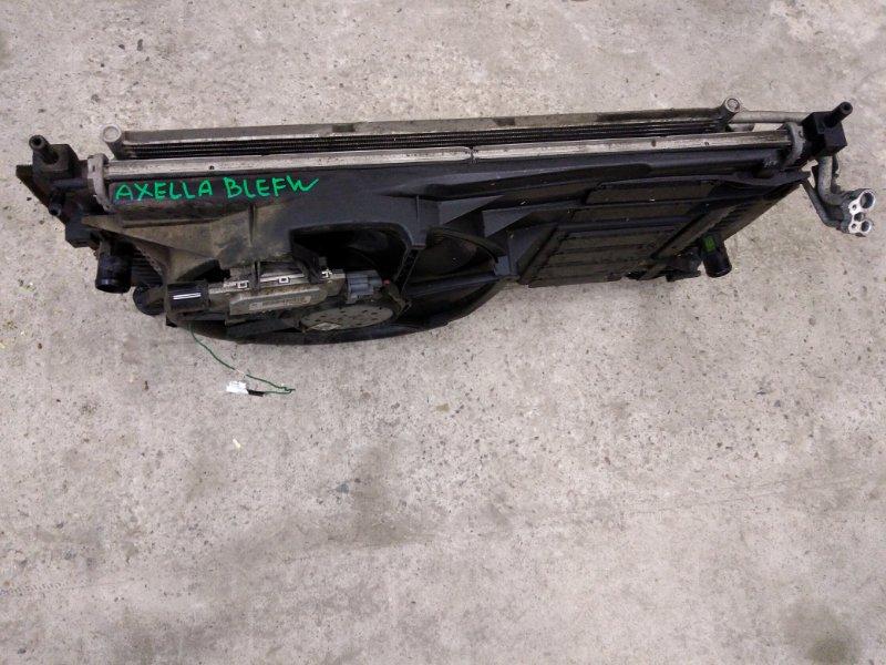Радиатор двигателя Mazda Axela BLEFW LF-VDS 2009