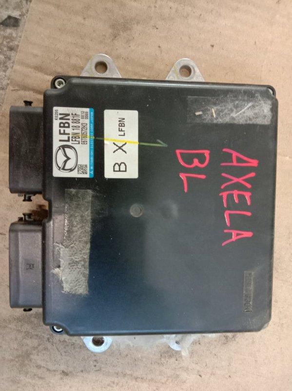 Блок управления двс Mazda Axela BLEFW LF-VDS 2009