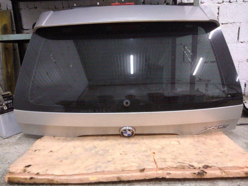 Дверь задняя багажника Bmw X5-Series E53 M62B44 2001 верхняя