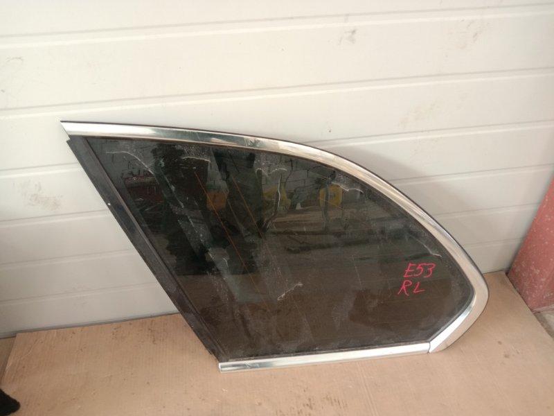 Стекло собачника Bmw X5-Series E53 M62B44 2001 левое
