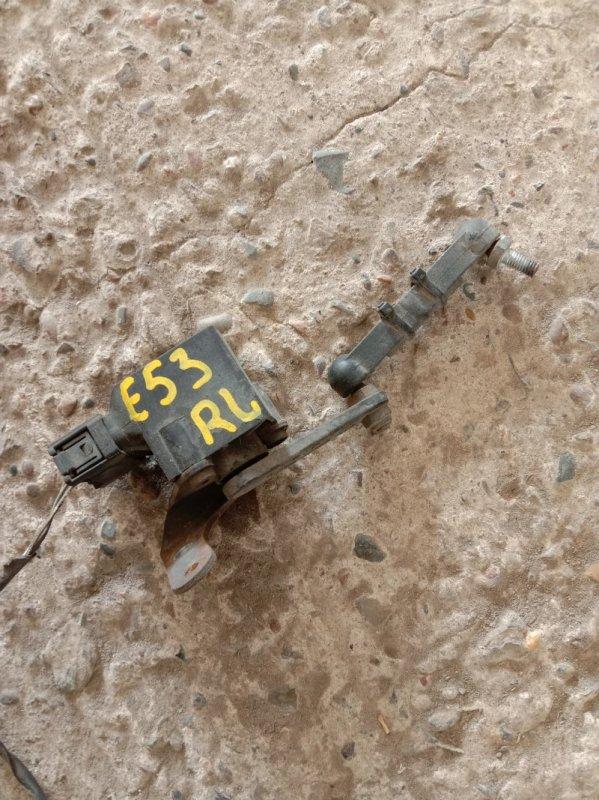 Датчик высоты дорожного просвета Bmw X5-Series E53 M62B44 2001 задний левый
