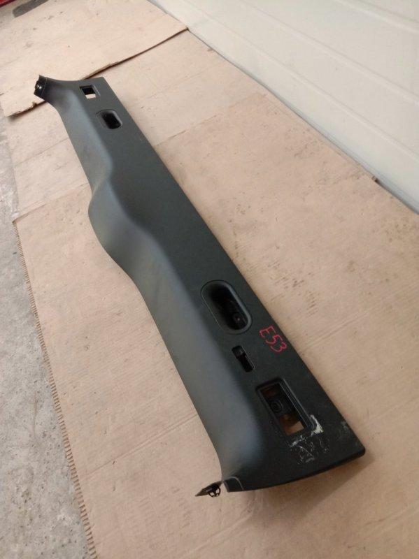 Обшивка крышки багажника Bmw X5-Series E53 M62B44 2001