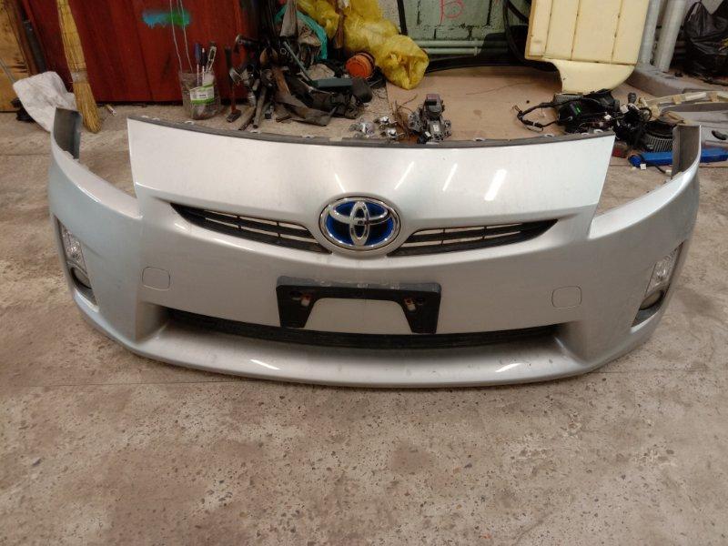 Бампер Toyota Prius ZVW30 2ZR-FXE 2009 передний
