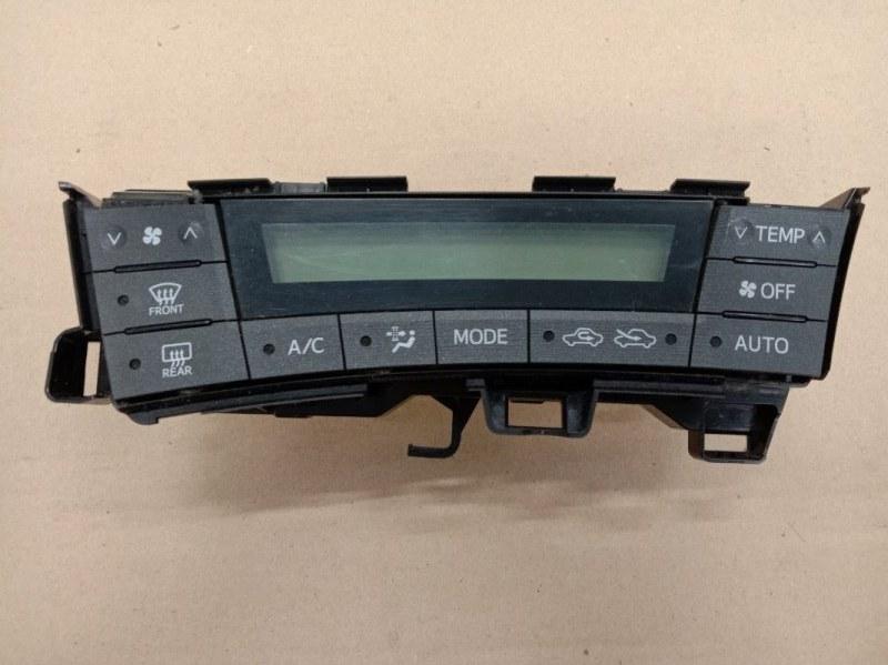 Блок управления климат-контролем Toyota Prius ZVW30 2ZR-FXE 2009