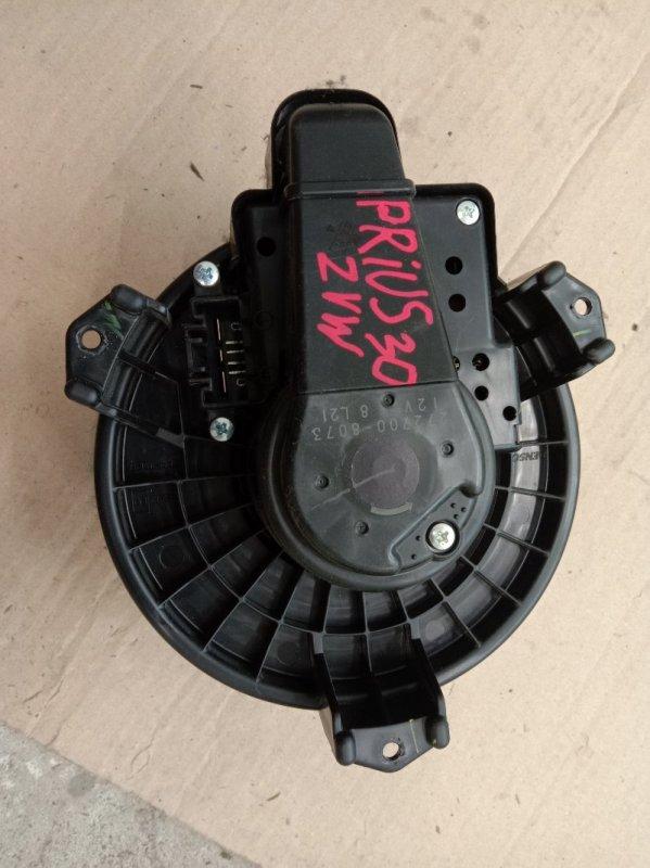 Вентилятор печки Toyota Prius ZVW30 2ZR-FXE 2009