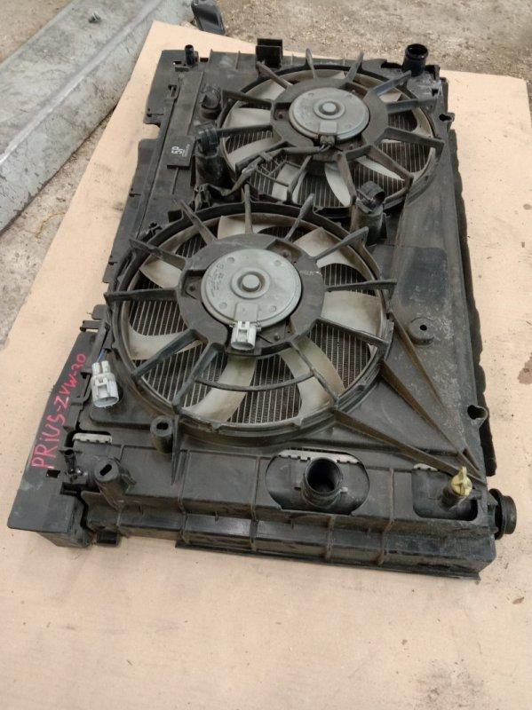 Радиатор двигателя Toyota Prius ZVW30 2ZR-FXE 2009