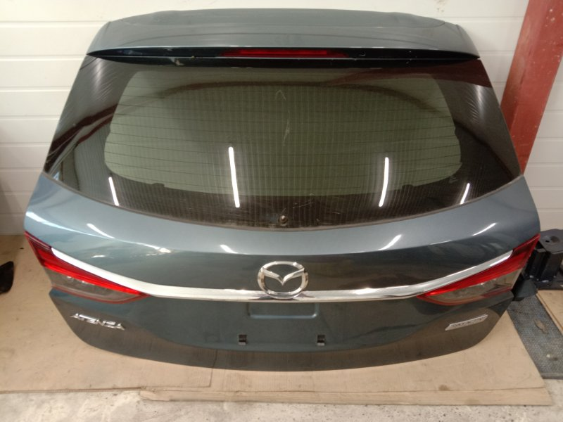 Дверь задняя багажника Mazda Atenza GJ2FP SH-VPTR 2013