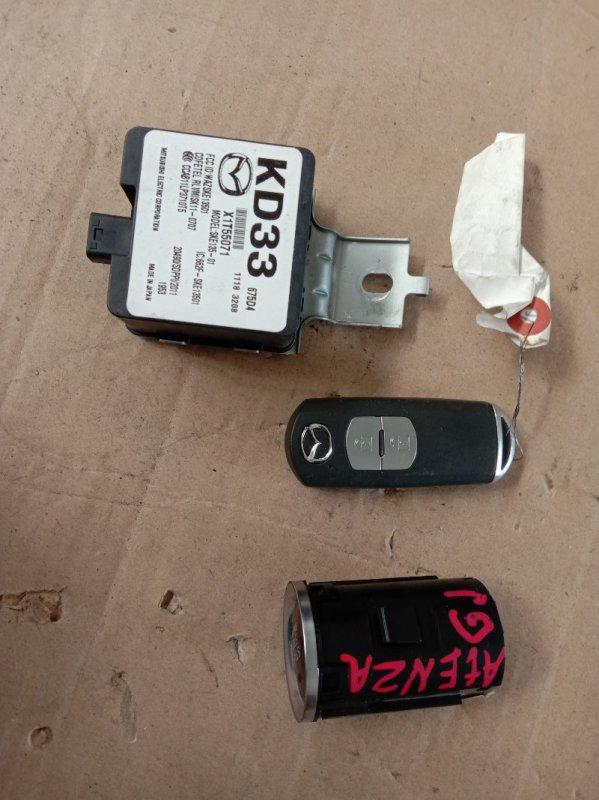 Ключ Mazda Atenza GJ2FP SH-VPTS 2013