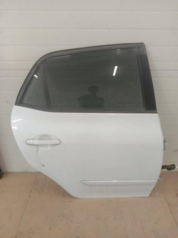 Дверь боковая Toyota Auris NZE151H 2005 задняя правая