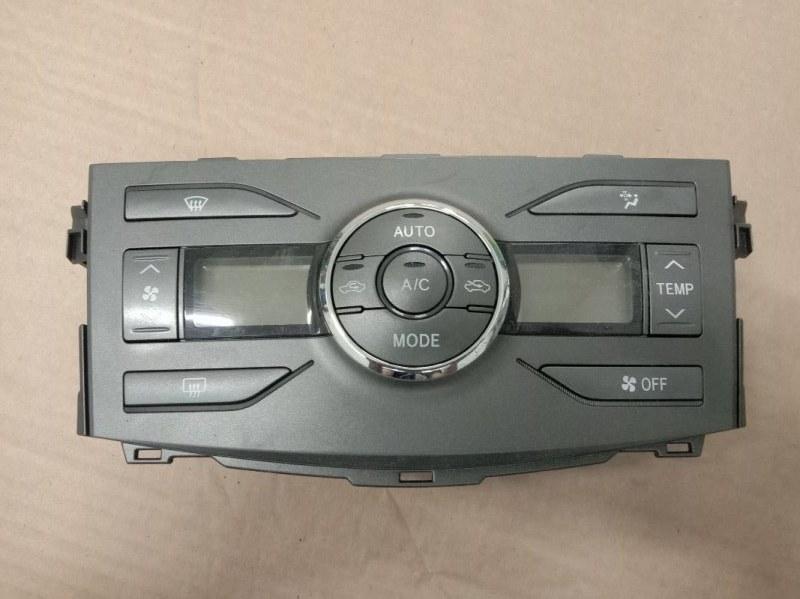 Блок управления климат-контролем Toyota Corolla Fielder ZRE144 2ZR-FE 2008