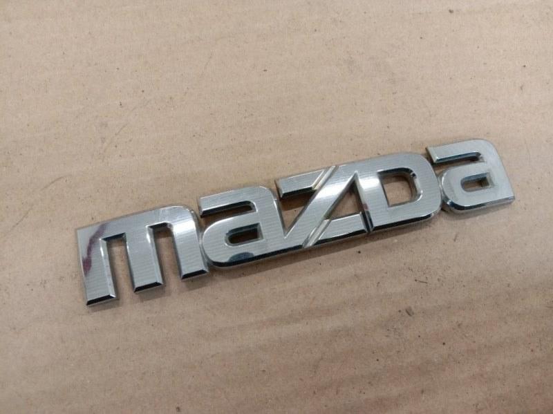Эмблема Mazda Atenza GY3W L3-VE 2005