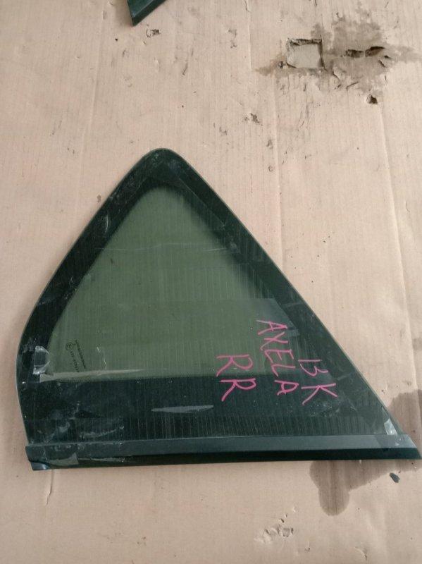Стекло собачника Mazda Axela BKEP LF-DE 2005 заднее правое