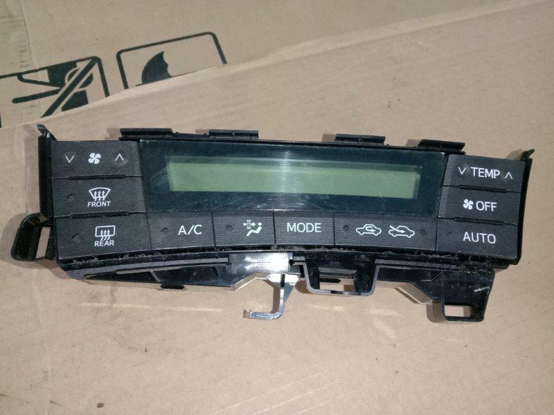Блок управления климат-контролем Toyota Prius ZVW30 2ZR-FXE 2010