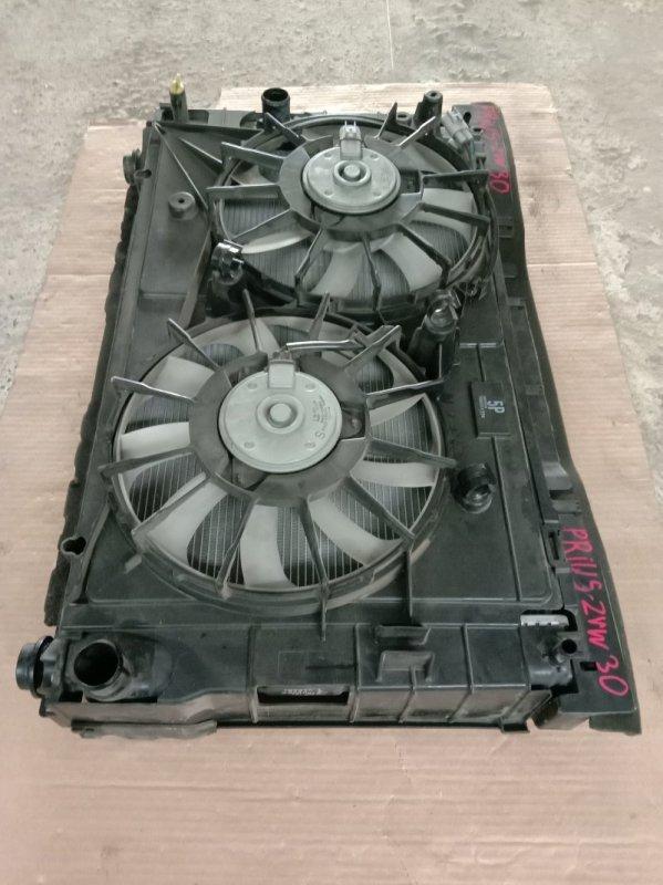Радиатор двигателя Toyota Prius ZVW30 2ZR-FXE 2010
