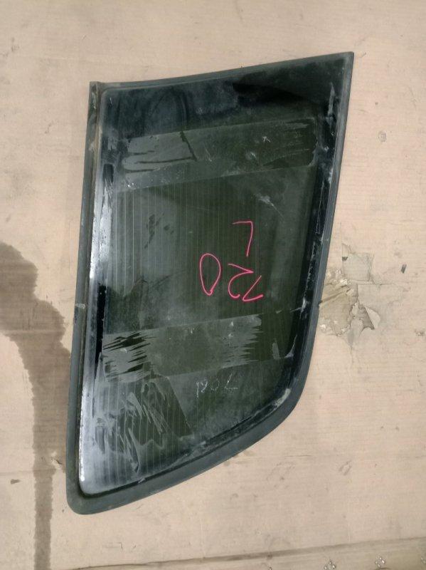 Стекло собачника Toyota Corolla Fielder ZZE123 2ZZ-GE 2003 заднее левое