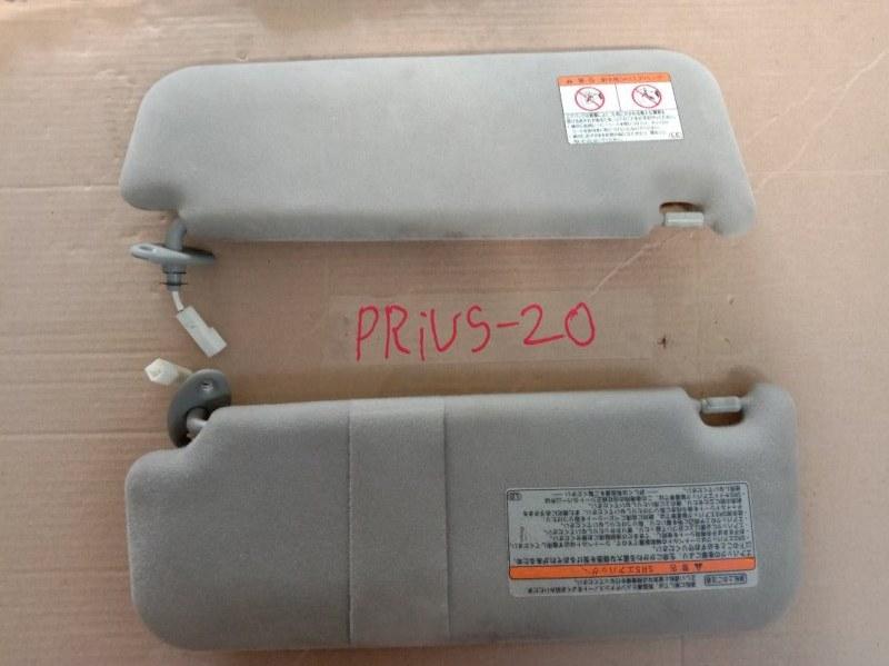 Козырек солнцезащитный Toyota Prius NHW20 1NZ-FXE 2005