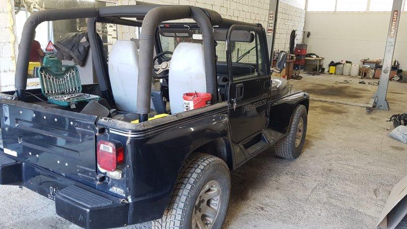 Авто на разбор Jeep Wrangler YJ ERH 1993