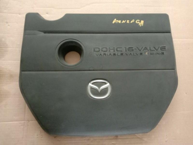 Крышка на двигатель декоративная Mazda Atenza GHEFP L5-VE 2008