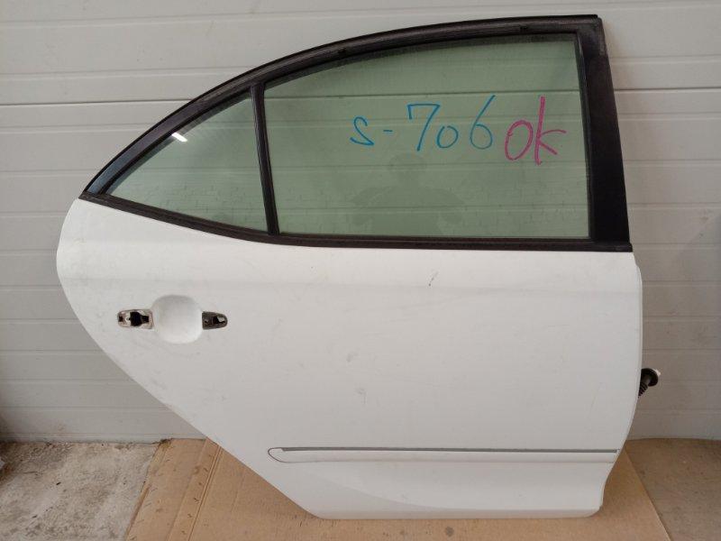 Дверь боковая Toyota Allion ZZT240 1ZZ-FE 2003 задняя правая