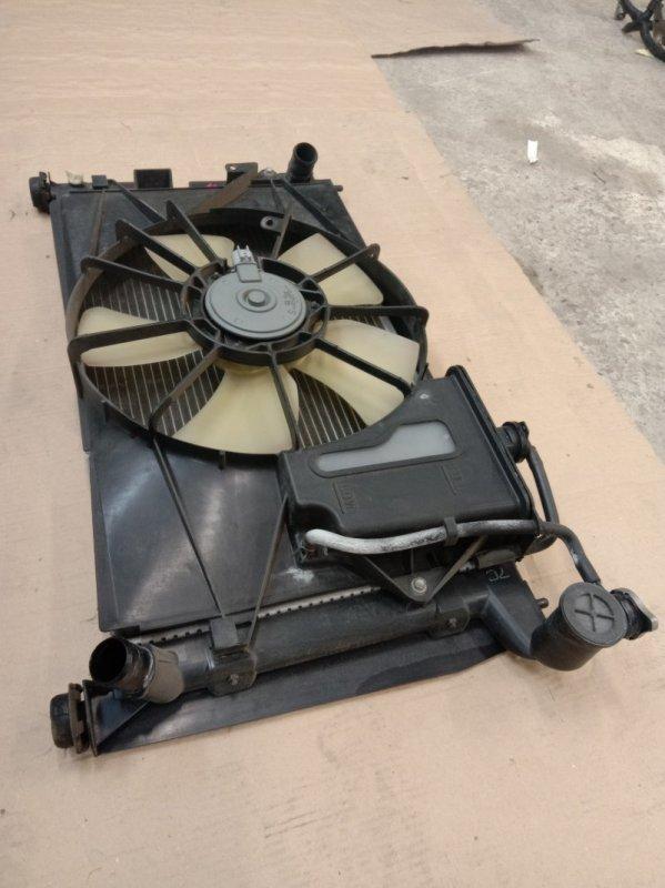 Радиатор двигателя Toyota Corolla Runx ZZE122 1ZZ-FE 2003