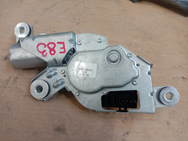 Мотор заднего дворника Bmw X3 - Series E83 M54B25 2003