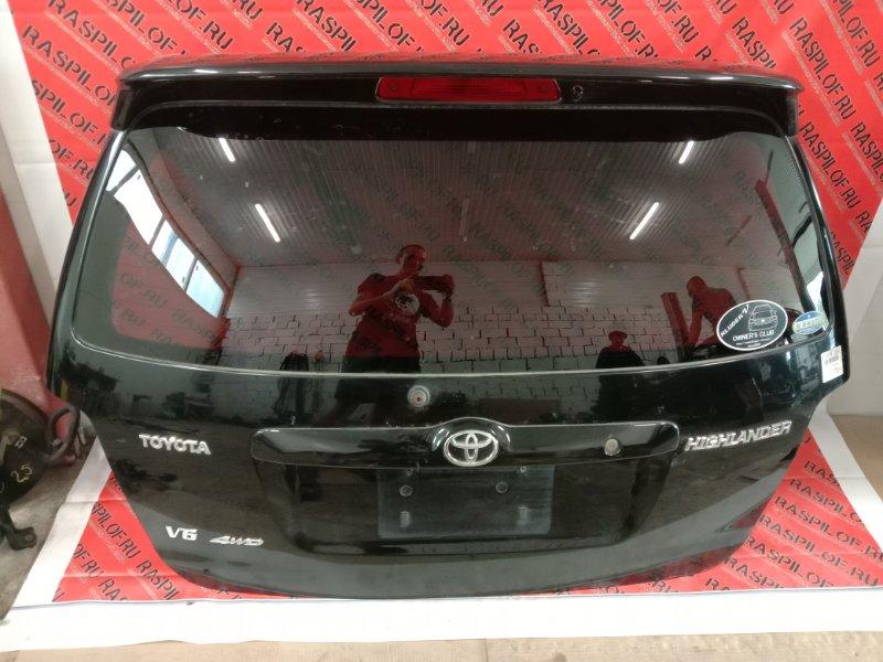Дверь задняя багажника Toyota Kluger MCU25 1MZ-FE 2003
