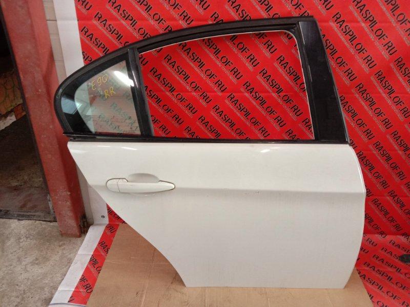Дверь боковая Bmw 3-Series E90 N46B20 2005 задняя правая