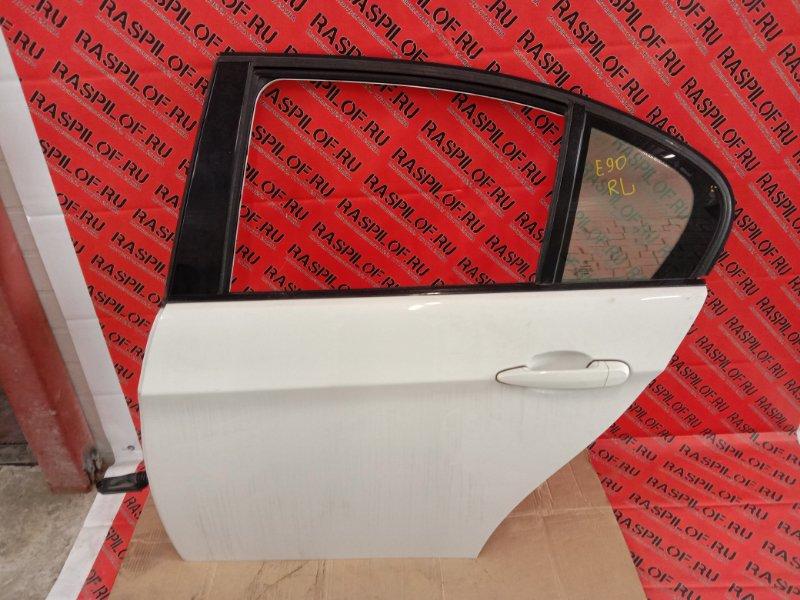 Дверь боковая Bmw 3-Series E90 N46B20 2005 задняя левая