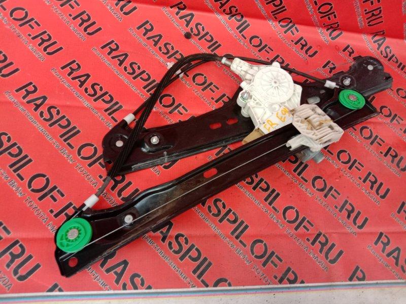 Стеклоподъемник Bmw 3-Series E90 N46B20 2005 передний правый