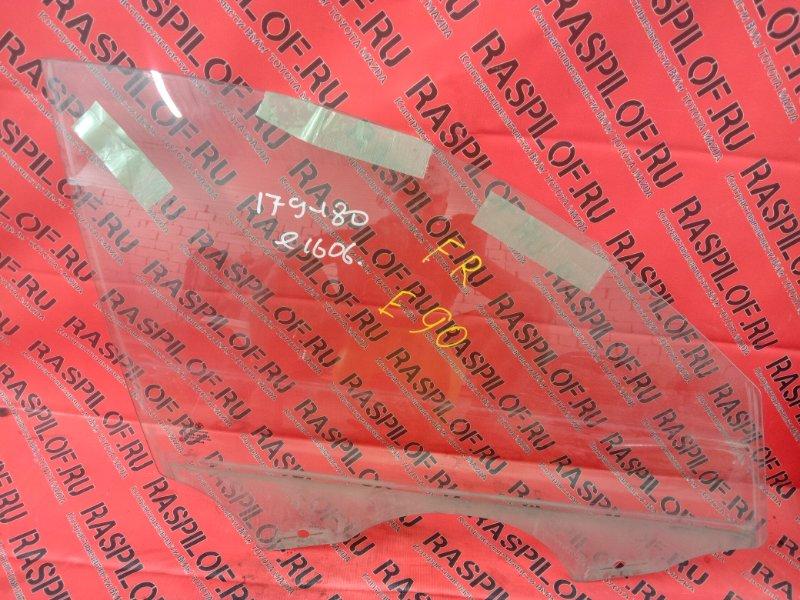 Стекло боковое Bmw 3-Series E90 N46B20 2005 переднее правое