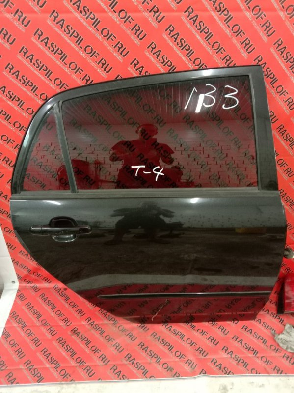 Дверь боковая Toyota Corolla Runx ZZE123 2ZZ-GE 2001 задняя правая