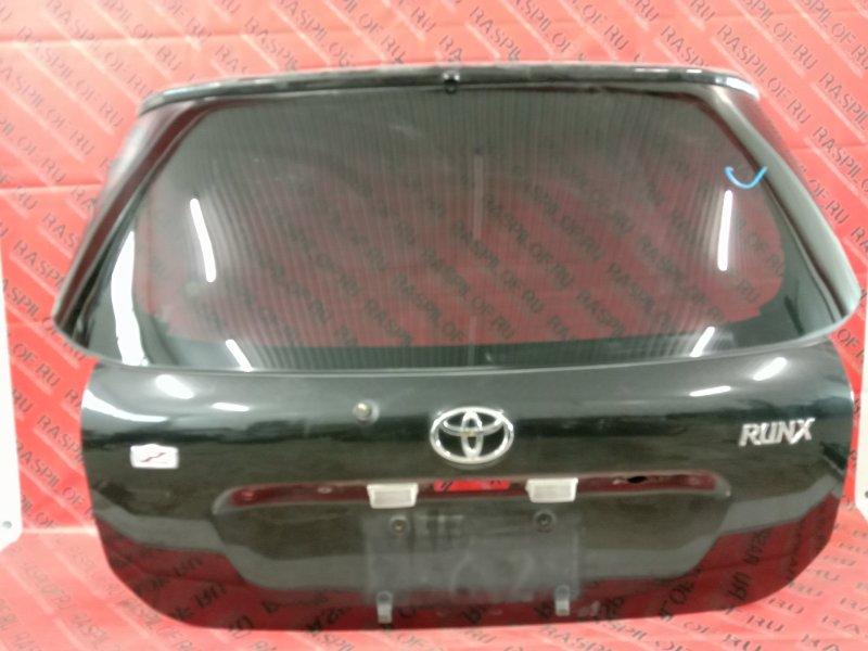 Дверь задняя багажника Toyota Corolla Runx ZZE123 2ZZ-GE 2001