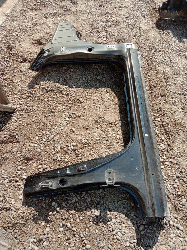 Порог Toyota Corolla Runx ZZE123 2ZZ-GE 2001 передний правый