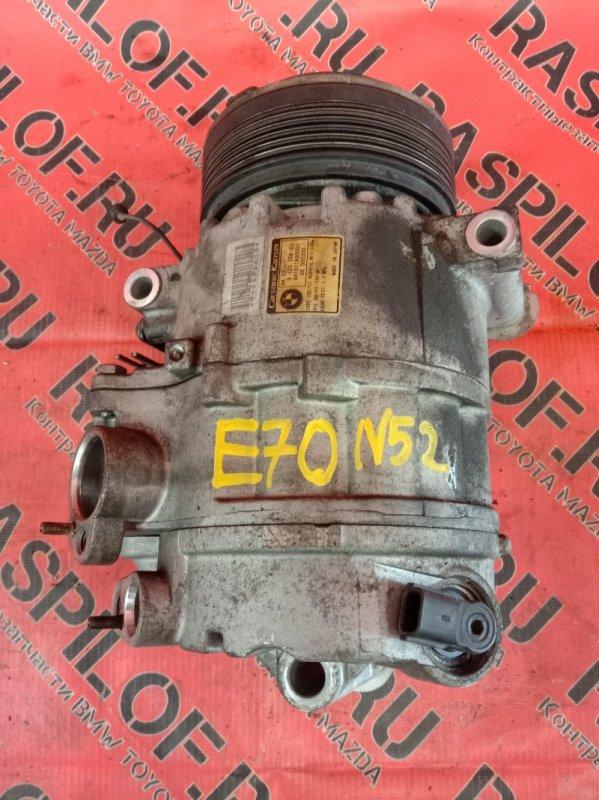 Компрессор кондиционера Bmw X5-Series E70 N52B30 2007