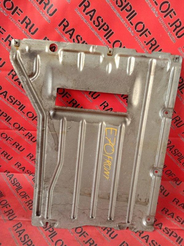 Защита кпп Bmw X5 E70 N52B30 2007