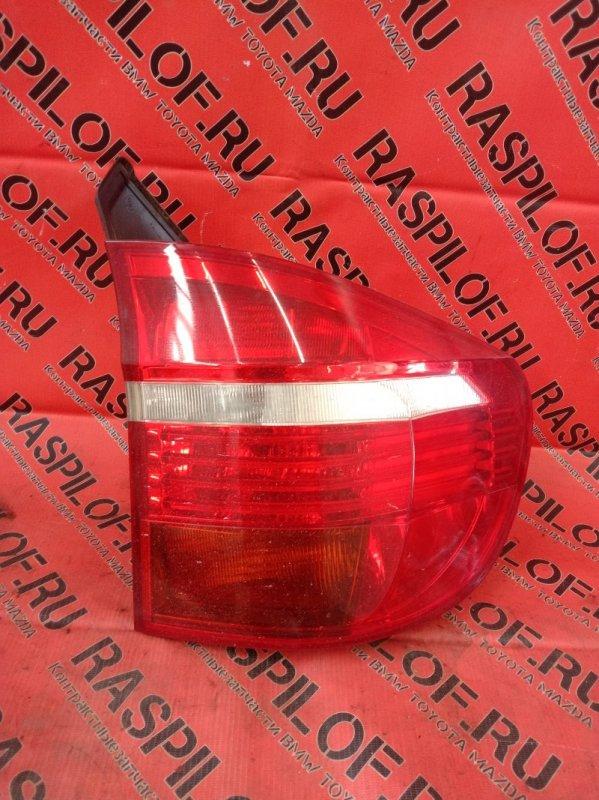 Фонарь стоп-сигнала Bmw X5-Series E70 N52B30 2007 задний правый