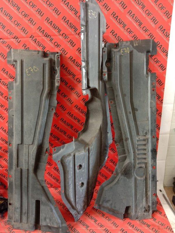 Пластиковая защита Bmw X5-Series E70 N52B30 2007