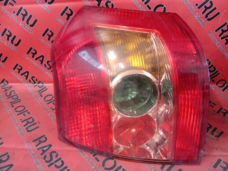 Фонарь стоп-сигнала Toyota Corolla Runx ZZE122 1ZZ-FE 2004 левый