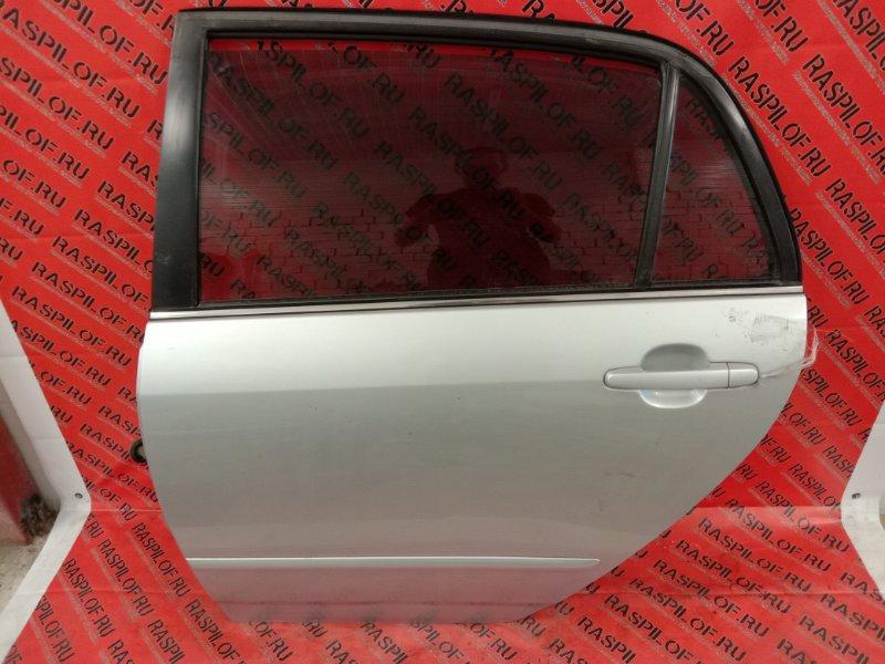 Дверь боковая Toyota Corolla Runx ZZE122 1ZZ-FE 2004 задняя левая