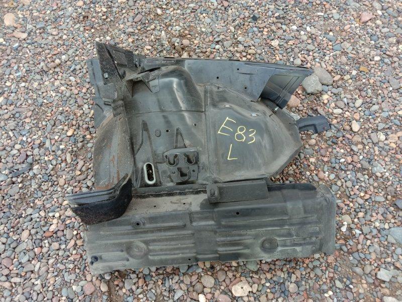 Лонжерон Bmw X3 - Series E83 N52B25 2008 передний левый