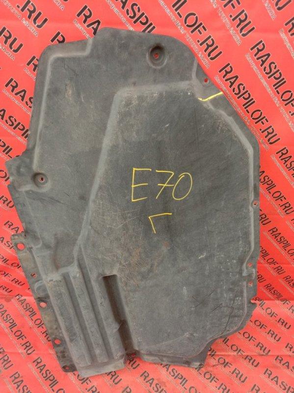 Пластиковая защита Bmw X5-Series E70 N52B30 2007 левая